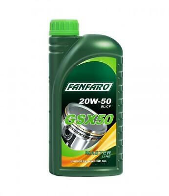 FANFARO GSX 50 1L 20W50  Engine Oil Based On High-Quality Base Oils API SL/CF