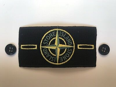 Stone island badge replacement