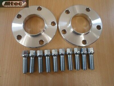 Audi A5 A7 12mm MTEC Hubcentric Wheel Spacer Kit 5x112PCD 66.6 & Radius Bolts