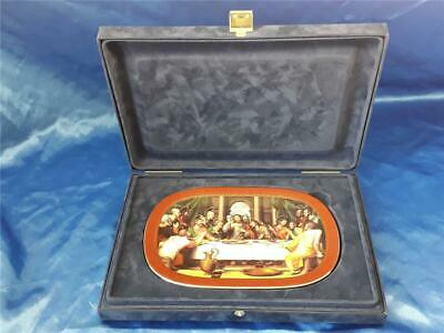 Bradford Exchange - The Last Supper Collector's Plate Boxed Cert  Biblical