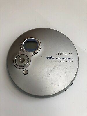 Sony Walkman D-EJ750 Personal Portable CD Player Jog Proof G Protection