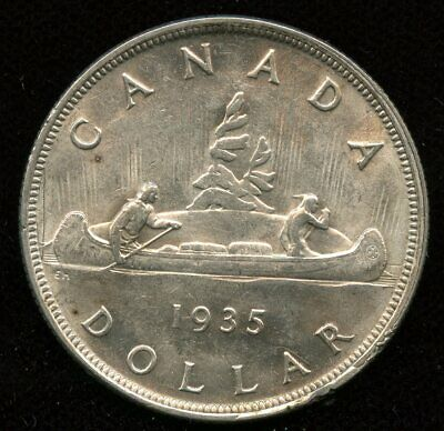 1935 Canada Silver Dollar - Our First Issue!