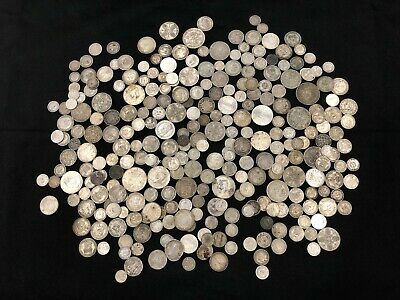 1KG of RARE & Highly Collectable SILVER world coins  - Lot 601