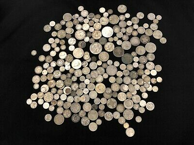 1KG of RARE & Highly Collectable SILVER world coins  - Lot 603