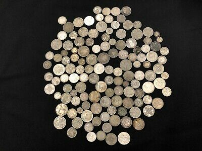 1KG of RARE & Highly Collectable SILVER world coins  - Lot 604