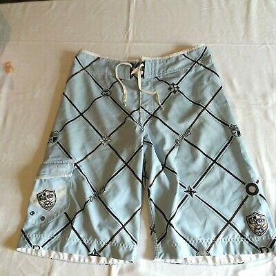 W32 Billabong Board Shorts Surfing Holiday Summer Shorts Wax Comb Bottle Opener