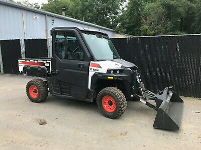 BOBCAT 3650 HD UTV 4wd  AC/HEAT with BUCKET LOW HOURS Kohler Diesel  Polaris