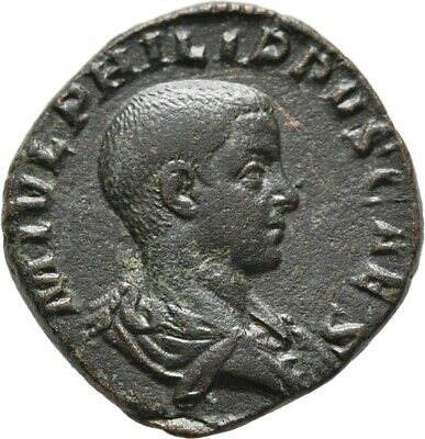 Lanz Roman Empire Philip Junior Sestertius Sesterz Prince Of The Youth ±Jbp2042