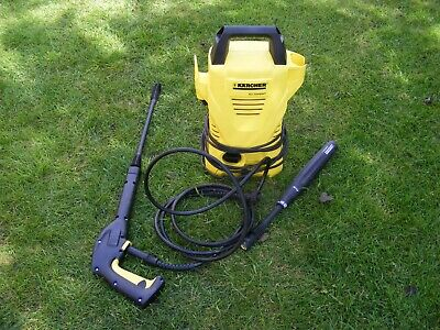 Karcher K2 Compact Pressure Washer Light Weight Easy To Use With 2 Spray Lances