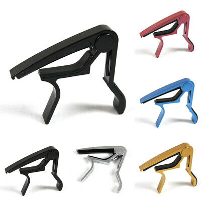 Aluminum Guitar Capo Trigger Spring Acoustic Electric Clamp Quick Change Release
