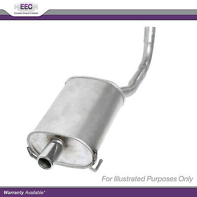 EXHAUST SILENCER VW CADDY II Estate 1.9 TDI Diesel 1996-10-/> 2004-01 9K9B
