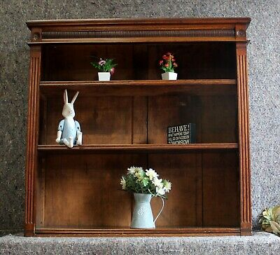 Edwardian Open Bookcase / Shelves