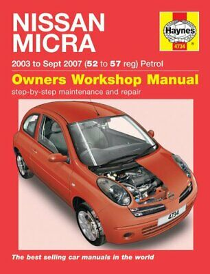 Nissan Micra 03-10 by Haynes Publishing 9781785210464 | Brand New