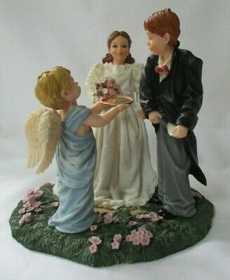 May I Have The Ring?  Prayers & Promises 2001 Bill Stross Demdaco Figurine