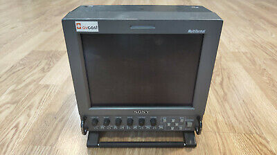 Sony LMD-9050 Video monitor with HD-SDI option Plus AC-LMD9 Power adaptor
