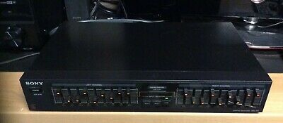 Sony GRAPHIC EQUALIZER SEQ-210 Tested Works Well