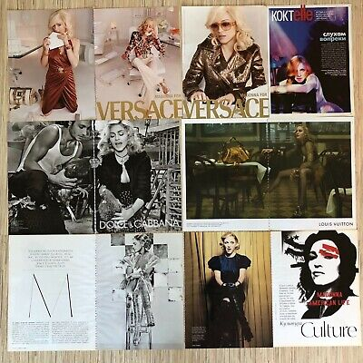 Madonna Clipping Collection (Vogue & ads)