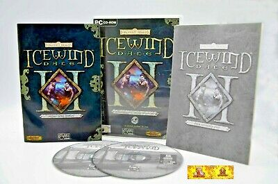 Icewind Dale II 2 PC Video Game Forgotten Realms RPG Role Playing
