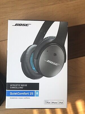 Bose QuietComfort 25 Acoustic Noise Cancelling Headphones - Silver/Black