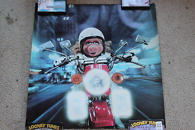 2 diff. 1981-dated Muppets posters inc. Ms. Piggy