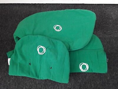 bugaboo cameleon set fleece green will fit cameleon 1-2 hood Apron & Seat Line