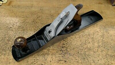 Vintage STANLEY BAILEY No. 6 Wood Plane Type 15 RESTORED 18""