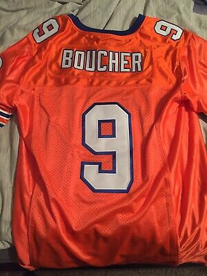 Bobby Boucher #9 The Waterboy Football Jersey Adam Sandler S M L XL 2X