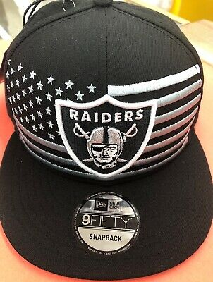 buy popular 84f70 af0f0 Oakland Raiders Cap New Era 9Fifty Snapback 2019 On Stage NFL Draft Day Hat,  NEW