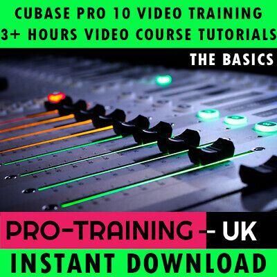 Video Course Cubase Pro 10 The Basics Training Lessons - Instant Download