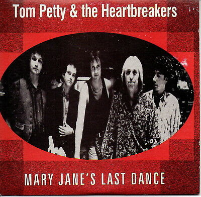 Tom Petty & The Heartbreakers Single CD Mary Jane's Last Dance Rare