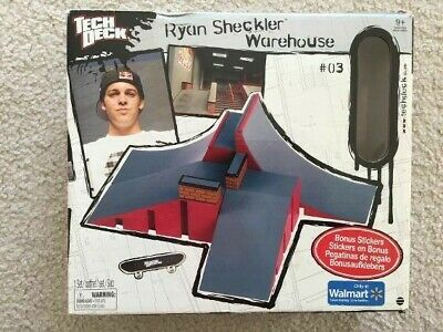 TECH DECK RYAN Sheckler Warehouse - 4 Sets In 1 Toys R Us Exclusive