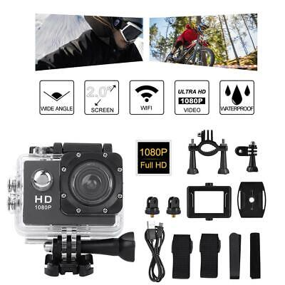 Underwater Waterproof Camera Mini 30M Diving Sports Action 720P HD Video Camera