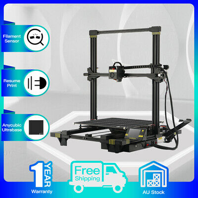 Anycubic Chiron 3D Printer Auto-Leveling Dual Z-Axis 400*400*450mm DIY Kit + PLA