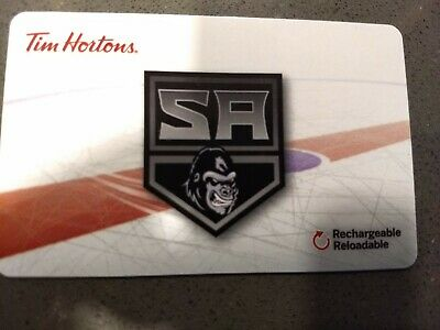 Tim Hortons Gift Card 2018 Salmon Arm Silverbacks FD62902