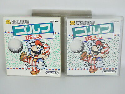 MARIO GOLF US COURSE Nintendo Famicom Disk System Japan Game dk