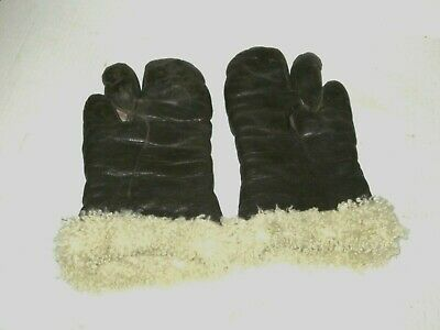 WWII Gunners Gloves Mittens US Army Air Force Bomber Gloves