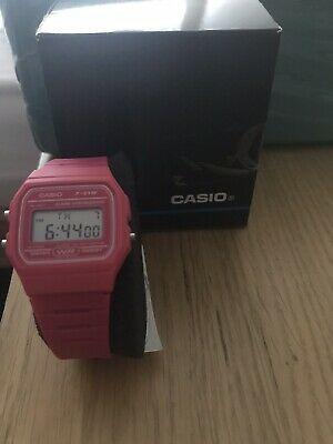 NEW Casio Collection W-86-1VQES Digital LCD Watch Stopwatch Alarm Light etc