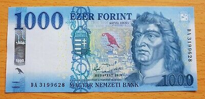 HUNGARY 1000 Forint 2018 P NEW UNC Banknote