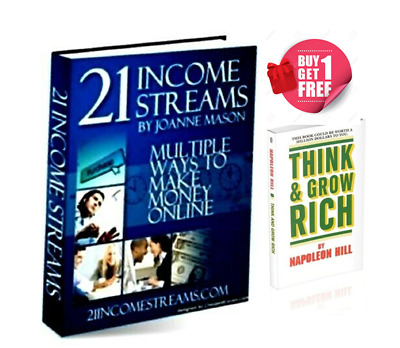 21 Income Streams PDF eBook ebooks with Master Resell Rights free shipping