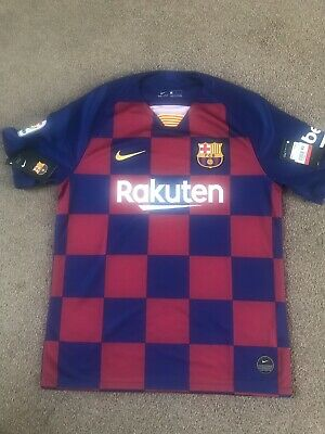 Barcelona Football Shirt 2019/2020 - X Large New With Tags