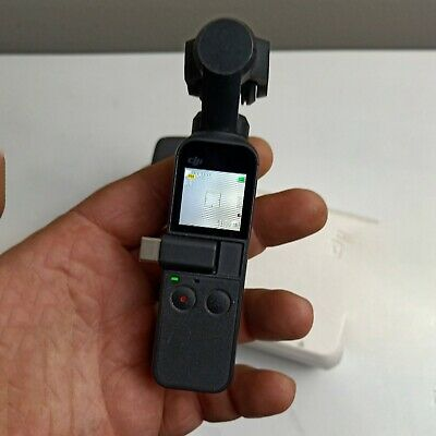 DJI Osmo Pocket 4K 60fps Camera with 3-Axis Gimbal Stabiliser Used