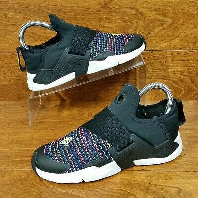 d55580caf9 Nike Huarache Extreme SE (Girl's Size 3Y) Athletic Sneaker Shoes Black /Rainbow
