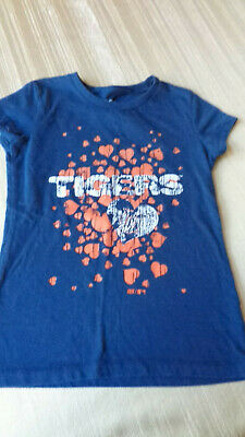 Girls - MEDIUM - Nike Blue Detroit Tigers Short Sleeve T-Shirt - SIZE 8