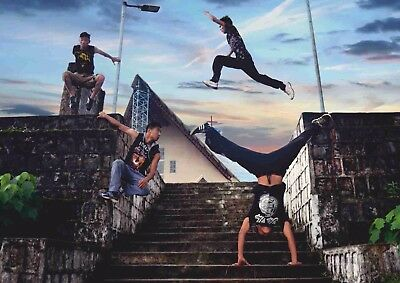 A4 /& A3 Extreme Sports Poster 21 Parkour