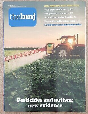 British Medical Journal BMJ 23 March 2019 (vol 364, issue 8192) AUTISM
