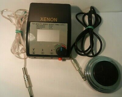 xenon tattoo power supply dual machine output RRP £90