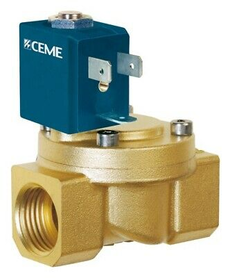 """CEME Solenoid Valves Brass 3/8"""" BSP Normally Closed 8513 SWIMMING pools"""