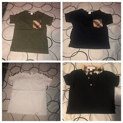 Burberry Baby Boy Shirts Size 9mo