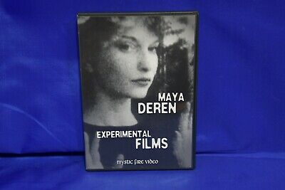 Maya Deren - Experimental Films (DVD, 2007) LIKE NEW Mystic Fire Video