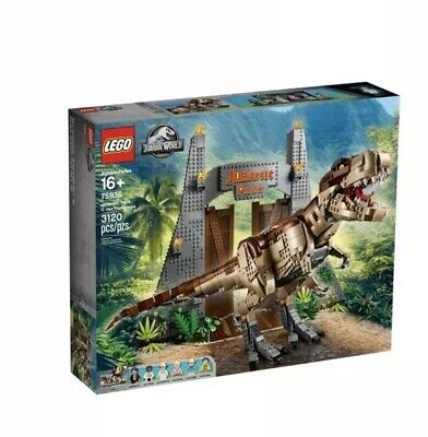 LEGO 75936 Jurassic Park: T-Rex Rampage Brand New In Sealed Box! Exclusive!